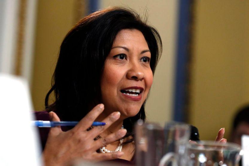 GettyImages 1189277701 - Congresista latina Norma Torres acusa amenazas y agresiones de simpatizantes de Nayib Bukele