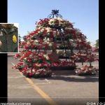 VIDEO  Colocan rosas rojas en donde fue asesinado Édgar Guzmán López hijo del Chapo  - Édgar Guzmán López, a 13 años de que asesinaron con más de 50 balazos a hijo del Chapo
