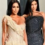 kim kardashian kylie jenner afp.jpg 242310155 - ¡Deleitan Kim Kardashian y Kylie Jenner en traje de baño!