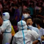 pruebas diagnosticas china - Ciudad China confina a un vecindario por brote de contagios COVID