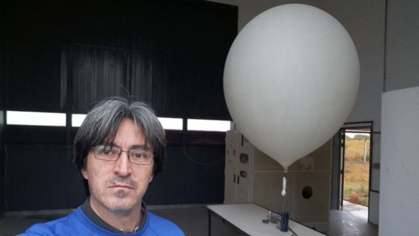"""118137003 20180407 081518 - Cómo funcionan los """"globos sonda"""" que se elevan a diario y ayudan a los pronósticos meteorológicos"""