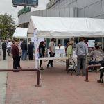 Cenro de votacion - La inseguridad llevó a las urnas a los electores en Tijuana