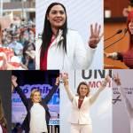 MUJERES OK - 7 mujeres ganadoras hacen historia; se convierten en gobernadoras