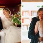 bodas - 15 veces que los fotógrafos captaron la complicidad entre padres e hijas justo antes de sus bodas