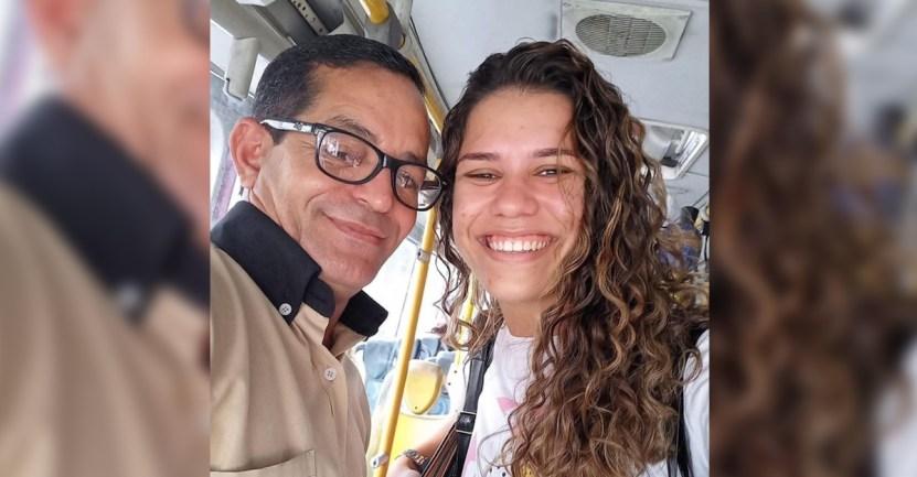 chica microbus autobus brasil - Conductor traslada gratis a una joven a su entrevista de trabajo y ella lo consigue. Fue su ángel