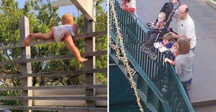 papas fracaso - 14 fotos que muestran a papás comportándose como unos completos idiotas. No deberían tener hijos