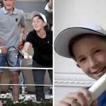 portada nino mexicano quedo raqueta ganadora novak djokovic paris - Un niño mexicano se quedó con la raqueta ganadora de Novak Djokovic en París. Nunca dejó de apoyarlo