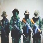 VIDEO  CJNG anuncia su llegada al territorio del Cártel de Sinaloa se deslinda de muerte de padre y colgados - FOTO: CJNG anuncia que se acabó la tregua en ciudad fronteriza de Tijuana
