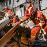 ap21194119854120 - Un hotel se derrumba en la ciudad de Suzhou, China; hay varios desaparecidos – SinEmbargo MX