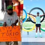 don hermilio irving perez juegos olimpicos tokio - Abuelito del triatleta Irving Pérez lo apoya desde su puesto del mercado