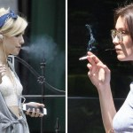 fumando famosas - 10 veces que las famosas fueron atrapadas con un cigarrillo en la boca