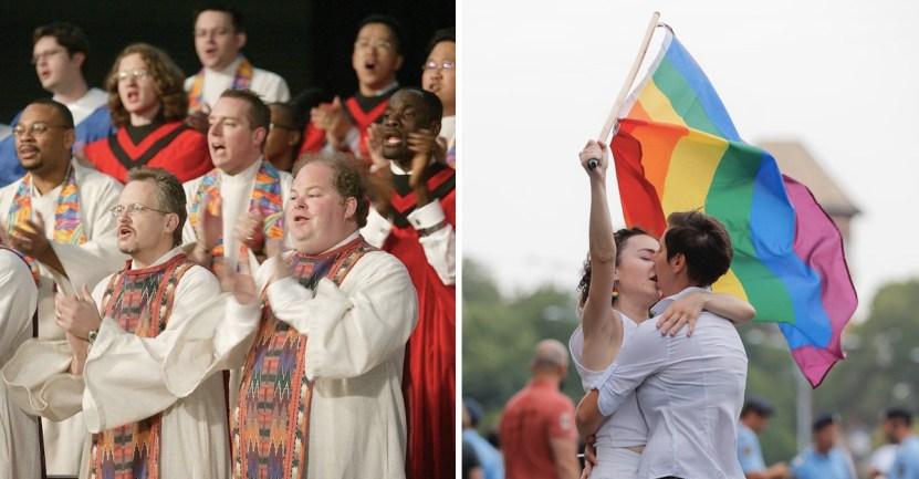 portada iglesia metodista reino unido vota favor matrimonio homosexual - Iglesia Metodista de Reino Unido vota a favor del matrimonio homosexual. Lo autoriza para sus fieles