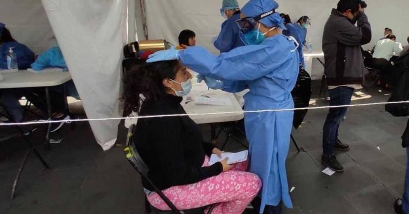 pruebas covid - 5 estados retrocederán en el semáforo epidemiológico por aumento de contagios