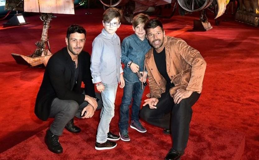 "ricky martin mellizos afp.jpg 242310155 - ¿Dice adiós Instagram a Ricky Martin? ""¡Es foto de mi hijo!"""