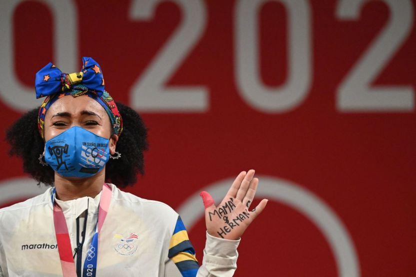 GettyImages 1234378107 - La ecuatoriana Neisi Dajomes, de la adversidad a la gloria en Tokio