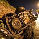 accidente mazatlan.jpg 242310155 - Accidente a la salida sur de Mazatlán deja tres heridos