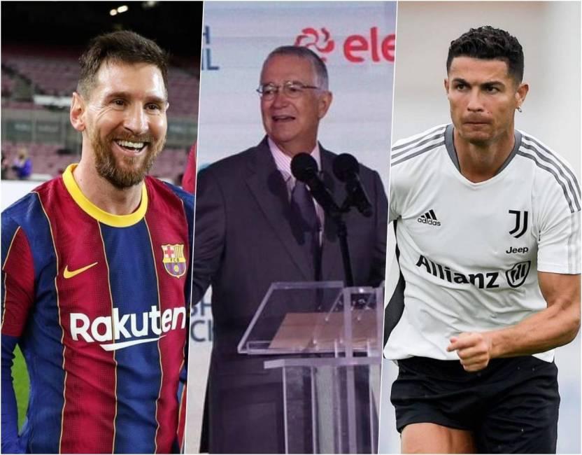 ricardo salinas pliego fichar messi ronaldo 1 - Salinas Pliego dice que con su fortuna podría traer a Messi y Cristiano; usuarios en redes se burlan