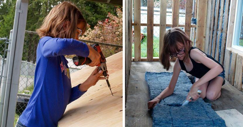 safe image13 - Hailey Ford: La niña que construye refugios y cultiva alimentos para gente sin hogar desde los 6 años