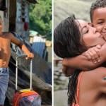 """adopcion hijo actriz carol nakamura 2 - Attrice brasiliana adotta un bambino che viveva fra la spazzatura. """"Mi ha insegnato ad essere più riconoscente""""."""