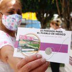 boleto sorteo 15 sept - El boleto número 832442 gana en la Lotería palco en el Azteca de 20 millones de pesos