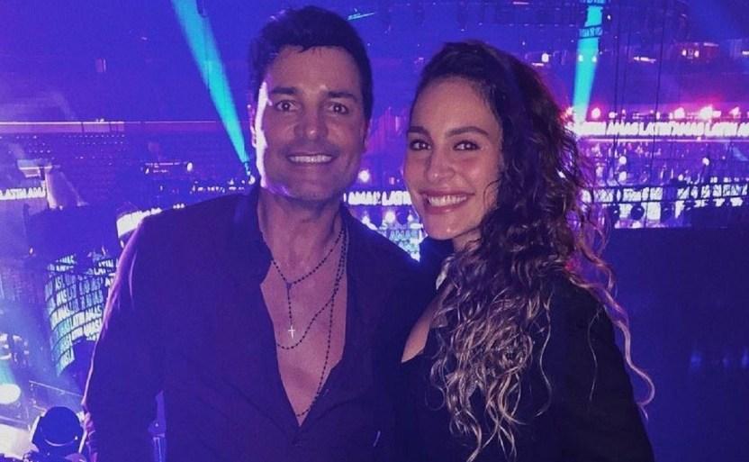 isadora figueroa y chayanne.jpg 242310155 - Chayanne apoya a su hija Isadora ¡se lanzará como cantante!