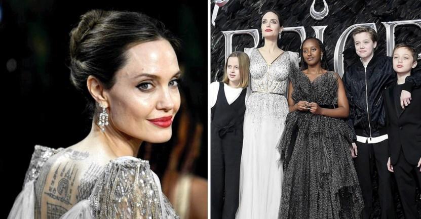 """portada angelina jolie siente brad pitt amenaza seguridad - Angelina Jolie siente que Brad Pitt fue una amenaza para su seguridad: """"Temí por toda mi familia"""""""