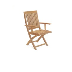 Quality Folding Chairs Wrought Iron Chair Cushions Outdoor Teak Arm Corona Asia Concept High