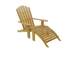 Teak Steamer Chair And Half With Ottoman Adirondack Marco Polo Asia Concept