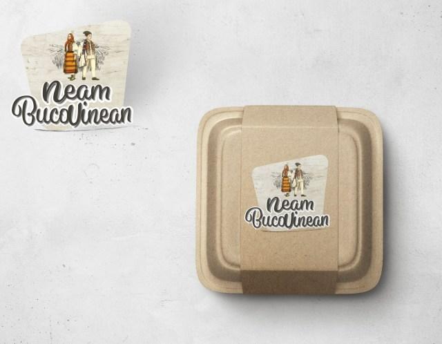 """Design eticheta produs """"Neam Bucovinean"""""""