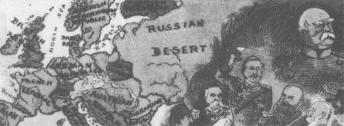 Karte Freimaurer 1889