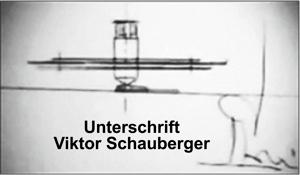 Schauberger Unterschrift