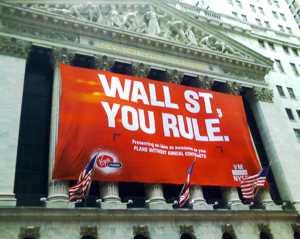 """Die Wall Street feiert ihre Macht: """"Wall Street, du regierst!"""""""