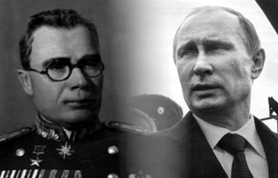 Putin und General Wlassow