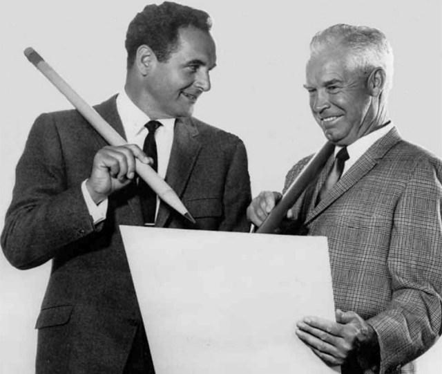 Bill Hanna & Joe Barbera circa 1965
