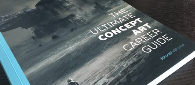 Concept Art Career Guide book cover