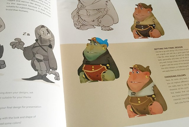 CDQ example tutorial character design