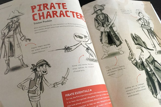 Pirate Character design tutorial in CDQ