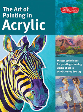 Art of Painting Acrylic book