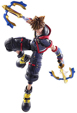 Sora KH3 Action Figure