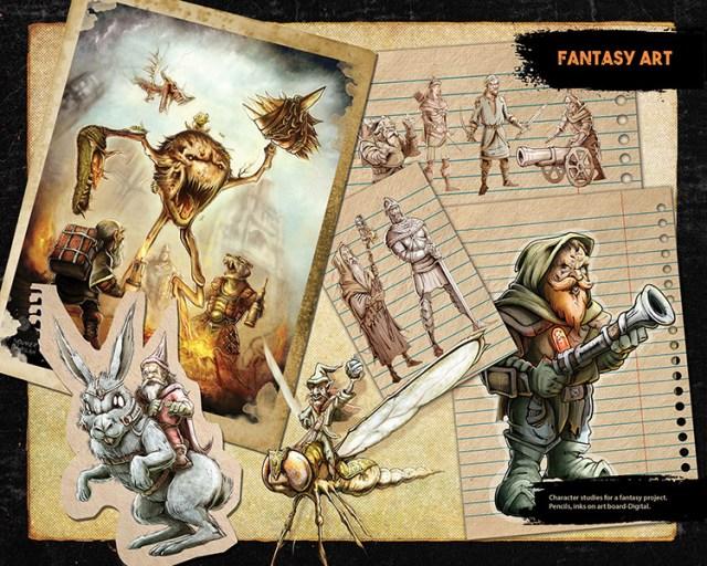 fantasy concept art