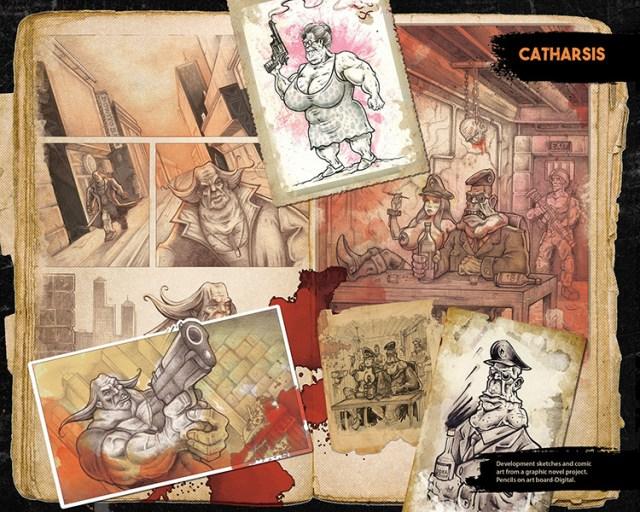 catharsis art book concept art