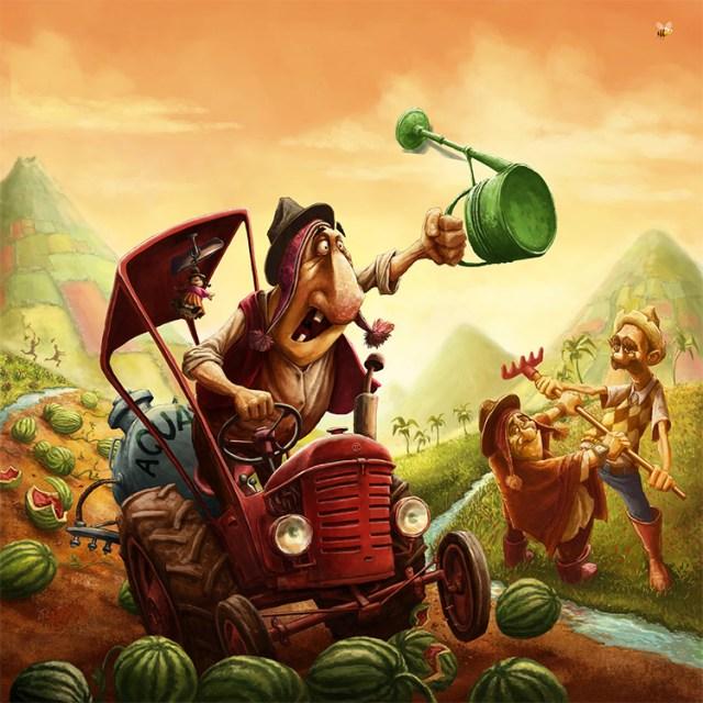 artwork santiago game cover