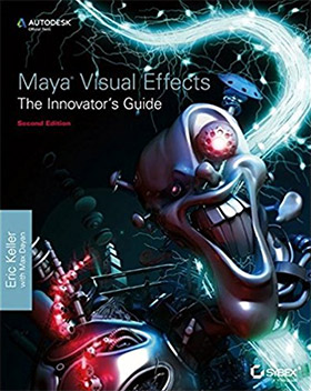 maya visual effects book