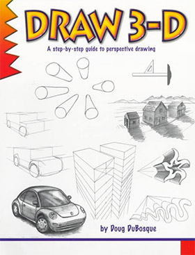 draw 3d book