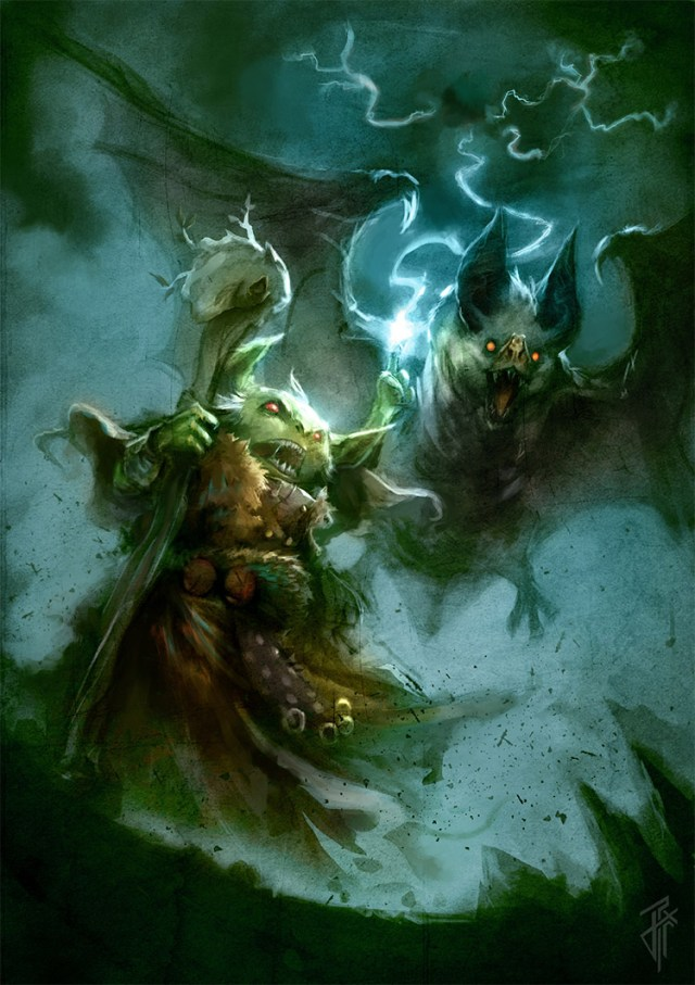 goblin druid design