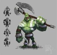 Orc and Goblin Concept Art Design Gallery