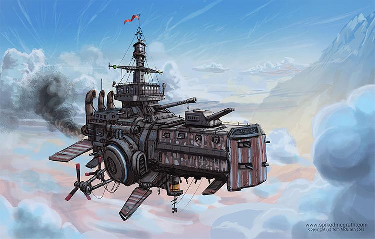 hmas airship concept art