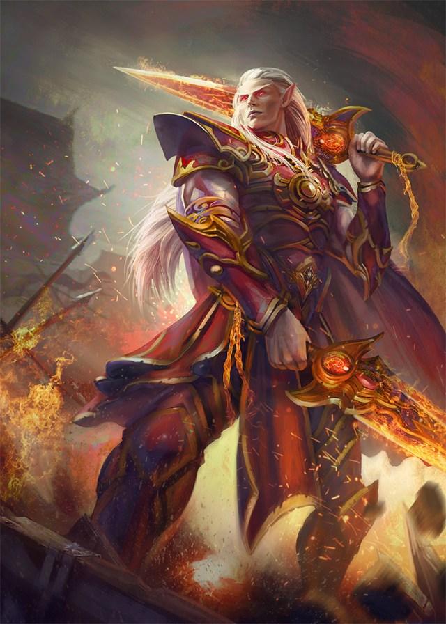 elf hero velian concept