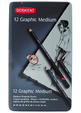 Derwent pencils set