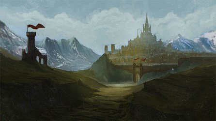 medieval concept lost environment buildings fortress gothic towns interior inspiration